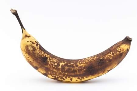「黒くなったバナナ」