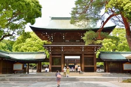 東京都の「明治神宮」
