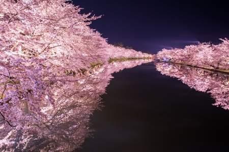 青森県の「弘前公園(鷹揚園)」