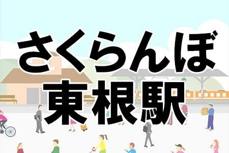 「さくらんぼ東根駅」