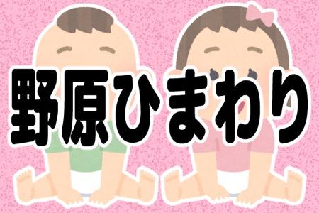 『クレヨンしんちゃん』の「野原ひまわり」