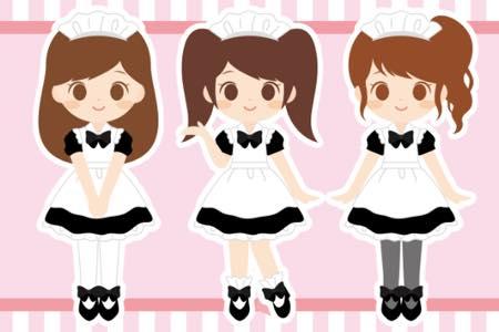 メイド服姿が可愛い!アニメキャラランキング