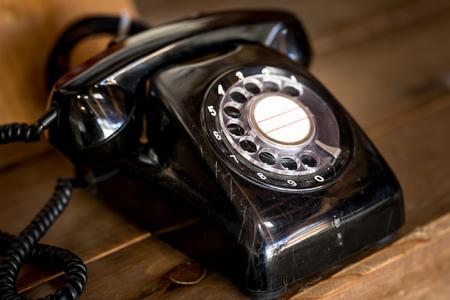 「ダイヤル式電話機」