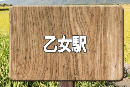 「乙女駅」