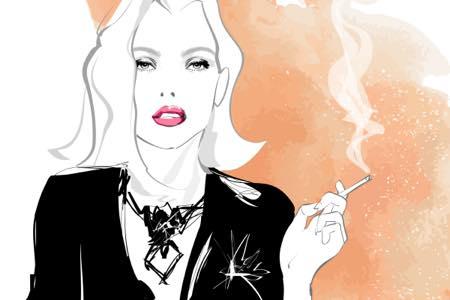 たばこ姿似合いすぎ!アニメ女子キャラランキング