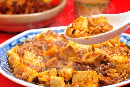 「マーボー豆腐」