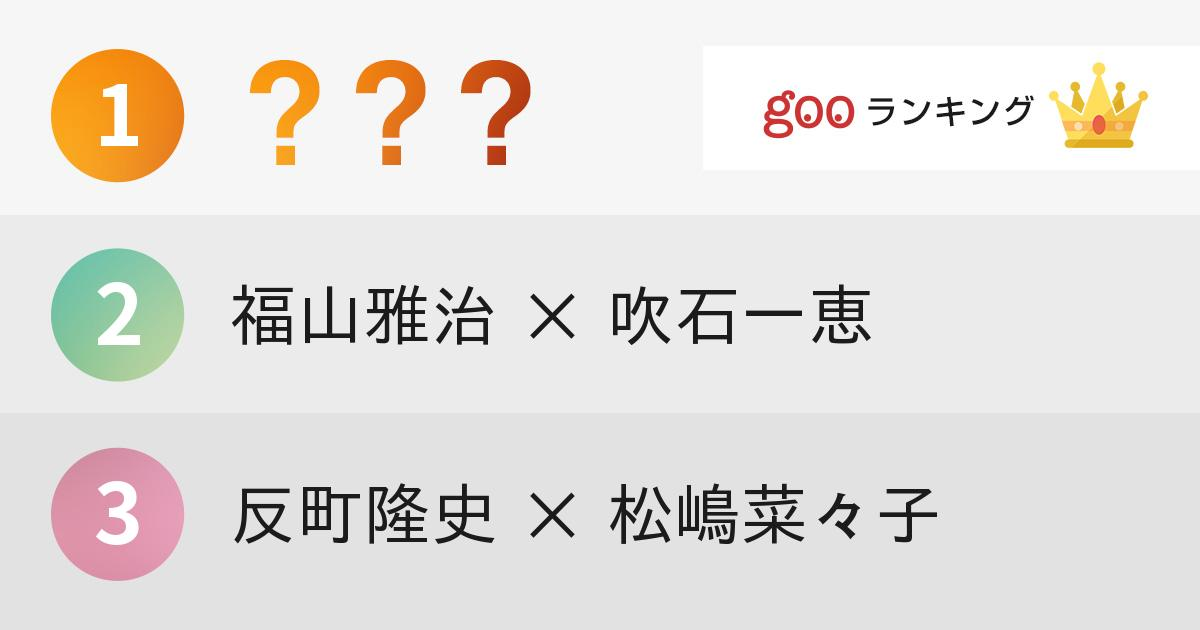 日本一美しいと思う「美男美女夫婦」ランキング!