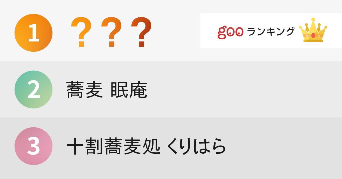 食べ歩きの達人ことタベアルキストが選ぶ「東京の蕎麦」10選