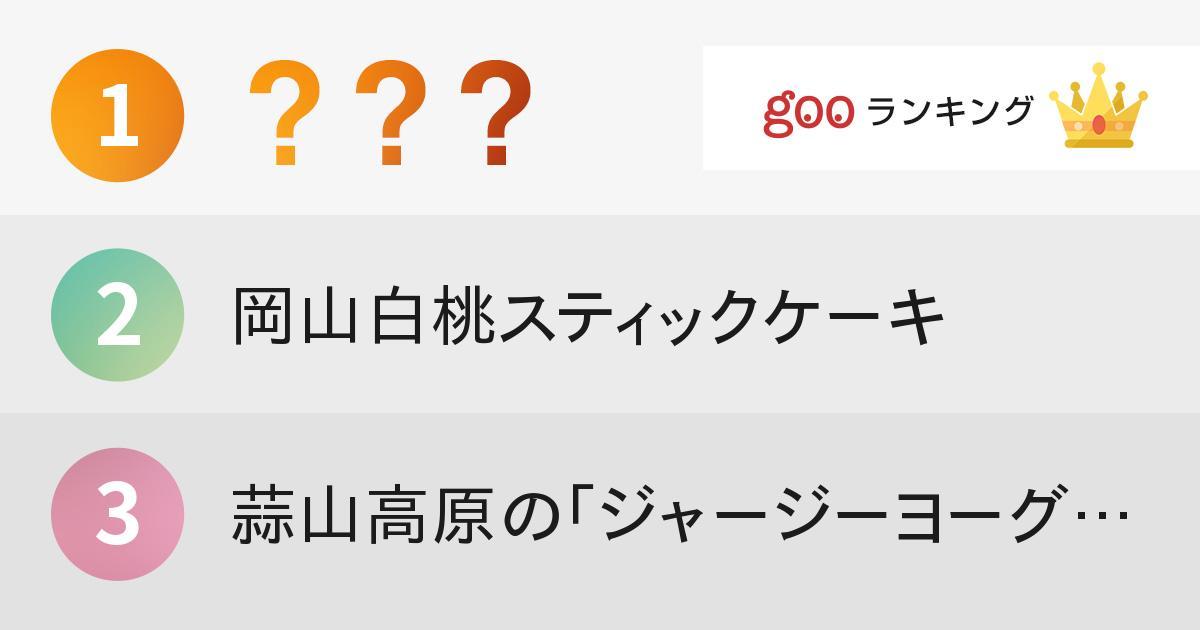 もらうと嬉しい! 岡山県のおいしいお土産ランキング